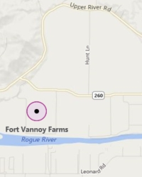 Fort Vannoy Farms Map